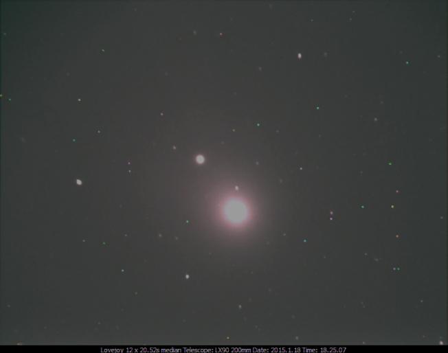 Comet C/2014/Lovejoy